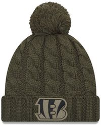 Lyst - KTZ Minnesota Vikings Salute To Service Pom Knit Hat in Green 33bd588fe