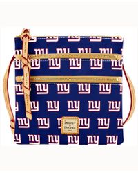 Dooney & Bourke - New York Giants Triple-zip Crossbody Bag - Lyst