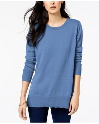 Maison Jules - Crew-neck Sweater, Created For Macy's - Lyst