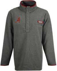 Columbia - Alabama Crimson Tide Harborside Fleece Pullover - Lyst