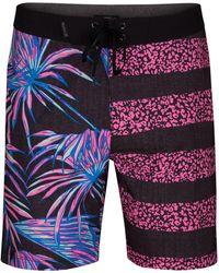 "Hurley - Phantom Tiger Floral 18"" Board Shorts - Lyst"