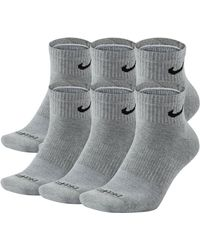 429cee71e Lyst - Nike Men's Dri-fit Fly Rise Performance Crew Socks 3-pack in ...