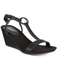 Style & Co. - Mulan Wedge Sandals - Lyst