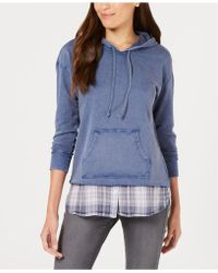 Style & Co. - Cotton Layered-look Hoodie, Created For Macy's - Lyst