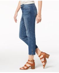 Style & Co. - Ankle-zip Capri Jeans, Created For Macy's - Lyst
