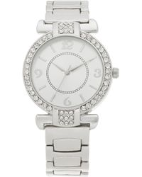 Charter Club - Silver-tone Bracelet Watch 36mm, Created For Macy's - Lyst