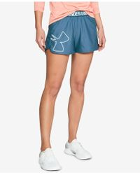 Under Armour - Graphic Play Up Shorts 2.0 - Lyst