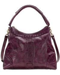 Patricia Nash - Carini Burnished Leather Hobo - Lyst