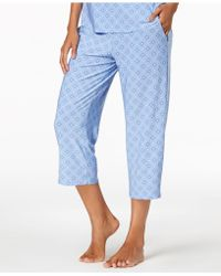 Alfani - Printed Cropped Pajama Pants, Created For Macy's - Lyst