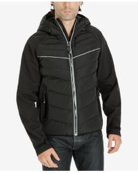 Michael Kors | Men's Quilted Hooded Jacket | Lyst