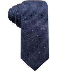 Alfani - Parkside Dot Silk Slim Tie, Created For Macy's - Lyst