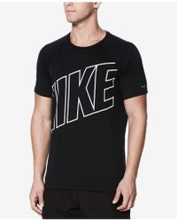 Nike - Big & Tall Short-sleeve Hydroguard T-shirt - Lyst