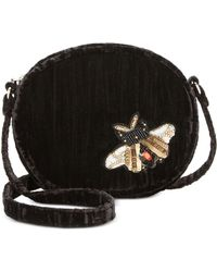 Steve Madden | Lotus Mini Canteen With Bug Appliqués | Lyst