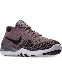 Nike | Women's Free Tr Flyknit 2 Bionic Training Sneakers From Finish Line | Lyst