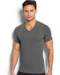 Calvin Klein - Men's V-neck Body Modal T-shirt U5563 - Lyst