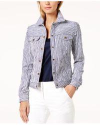 Trina Turk - Pismo Striped Jacket - Lyst
