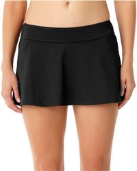 Anne Cole - Live In Color Swim Skirt - Lyst