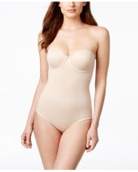 Miraclesuit - Shape Away Extra Firm Control Strapless Bodybriefer 2910 - Lyst