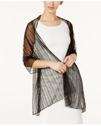 Steve Madden | Stripe It Rich Evening Wrap | Lyst