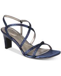Bandolino - Ota Embellished Strappy Sandals - Lyst