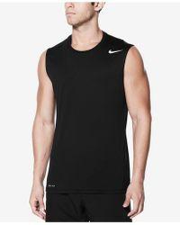 Nike - Men's Sleeveless T-shirt - Lyst