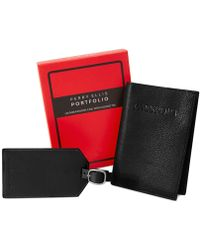 Perry Ellis - Portfolio Passport Case And Luggage Tag Gift-boxed Set - Lyst