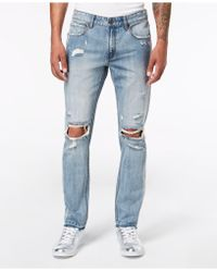 INC International Concepts - Ripped Skinny Jeans, Created For Macy's - Lyst