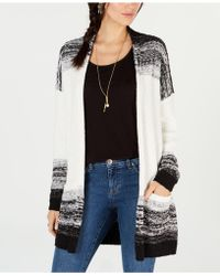 Style & Co. - . Textured Open-front Completer Cardigan, Created For Macy's - Lyst