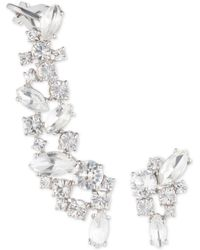 Marchesa - Crystal Mismatch Earrings - Lyst