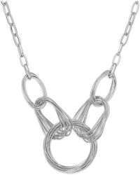 INC International Concepts | Gold-tone Multi-ring Frontal Necklace | Lyst
