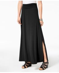 Style & Co. - Comfort-waist Maxi Skirt, Created For Macy's - Lyst