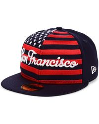 KTZ - San Francisco Giants Retro Big Flag 59fifty Cap - Lyst