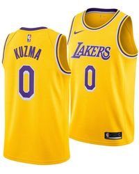 f8eb9741278 Nike Kyle Kuzma Los Angeles Lakers City Swingman Jersey 2018 in ...