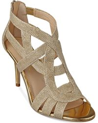 Marc Fisher - Nala3 Mid Heel Evening Sandals - Lyst
