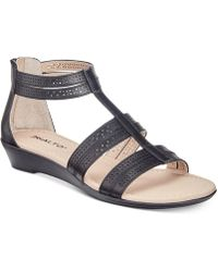 Rialto | Greer Wedge Sandals | Lyst