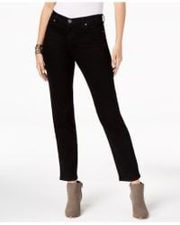 Style & Co. - Petite Natural Straight-leg Ankle Jeans, Created For Macy's - Lyst