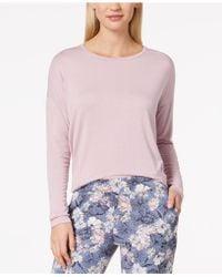 Alfani - Knit Loose Pajama Top - Lyst