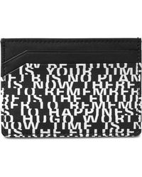 BOSS - Printed Leather Card Case - Lyst