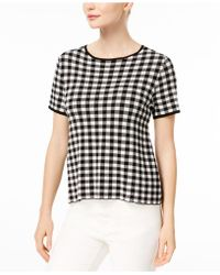 Weekend by Maxmara - Houndstooth Sweater - Lyst