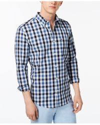 Tommy Hilfiger - Josh Plaid Shirt, Created For Macy's - Lyst