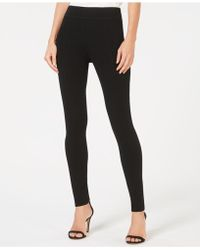 INC International Concepts - Seamed Pull-on Ponte Skinny Pants - Lyst