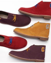 Clarks - Limited Edition Varsity Suede Bushacres, Created For Macy's - Lyst
