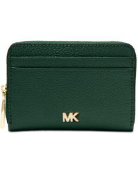 Michael Kors - Michael Zip-around Coin & Card Case - Lyst