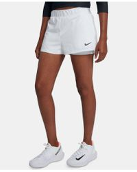 014ea3fd98d65 Lyst - Nike Ace Court Short in White