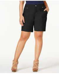 Style & Co. - Plus Size Relaxed Shorts, Created For Macy's - Lyst