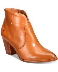 Frye - Women's Jennifer Ankle Booties - Lyst