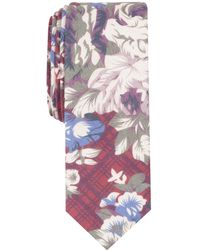 Original Penguin - Reynolds Floral Skinny Tie - Lyst