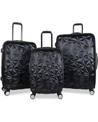 Aimee Kestenberg - Geo Edge 3-pc. Hardside Luggage Set - Lyst