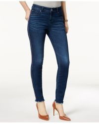 INC International Concepts - I.n.c. Racing-stripe Skinny Jeans, Created For Macy's - Lyst