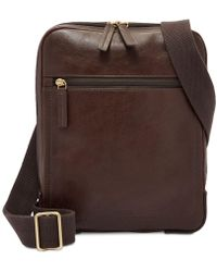 Fossil - Haskell Courier Bag Mbg9396201 - Lyst